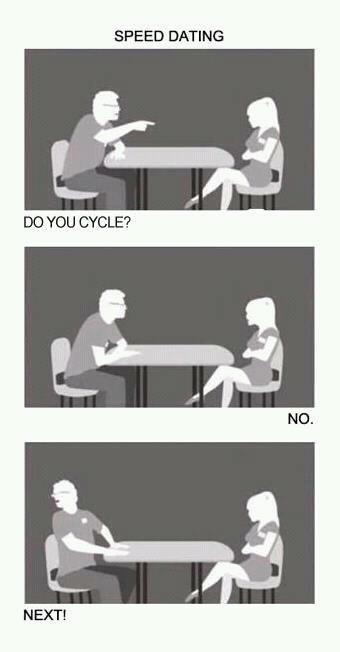 Speed dating cycle