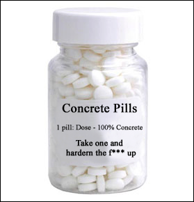 concrete pills