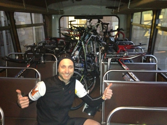 Bikes on the bus