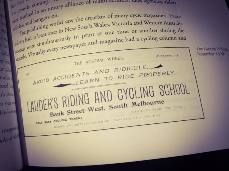 Wheeling Matilda Ad