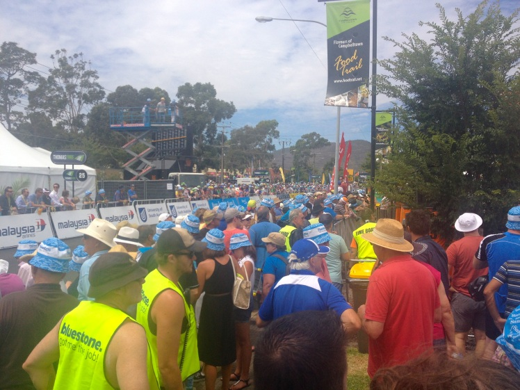 Big crowds at TDU