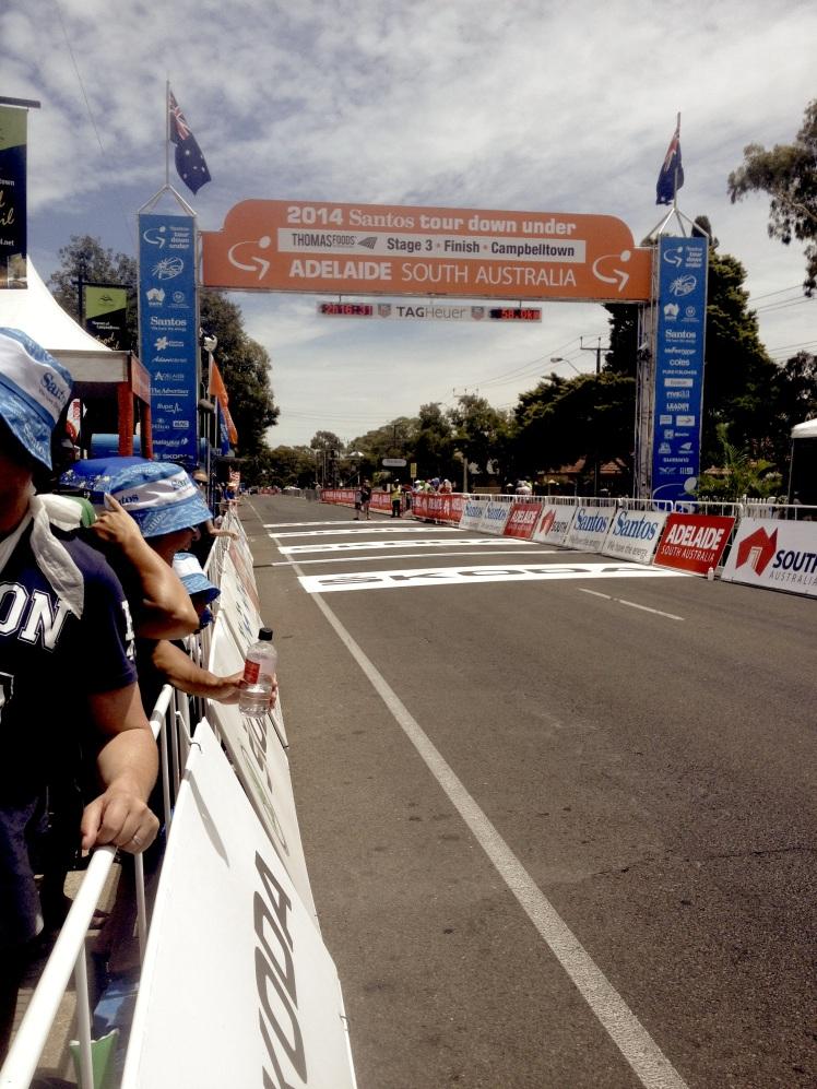 Finish Gantry TDU Stage 3