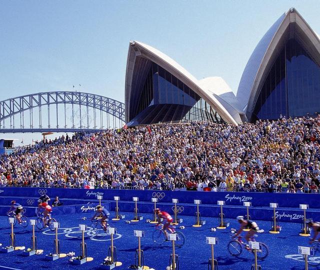 Sydney 2000 triathlon