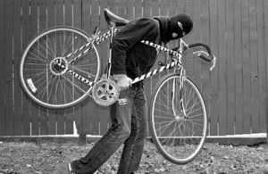 Bike thief