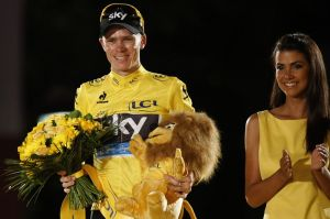 Froome and Lion