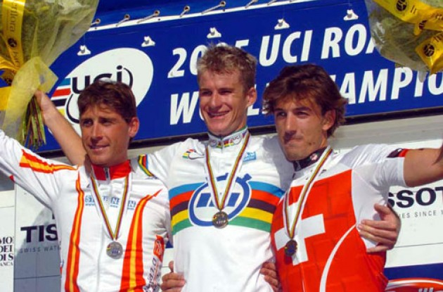 It's easy to forget Mick Rogers had three rainbow jerseys by the end of 2005.