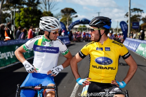 Joe Cooper and Pat Bevin, two kiwis well ahead of the Aussies in 2014.