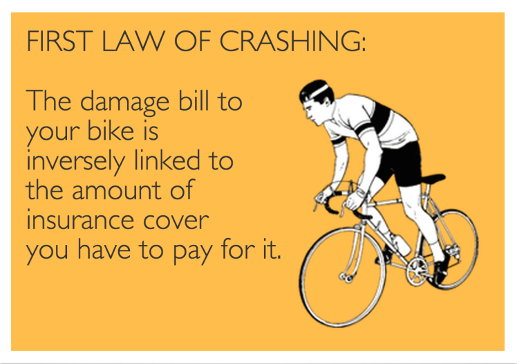 First Law of Crashing