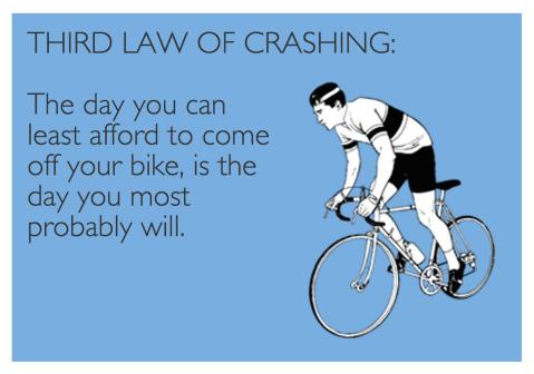 Third Law of Crashing