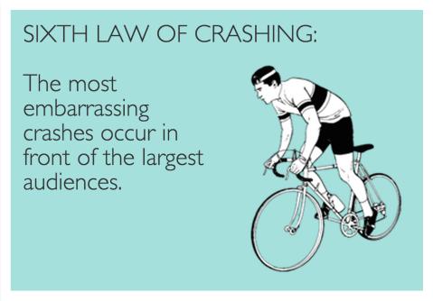 Sixth Law of Crashing