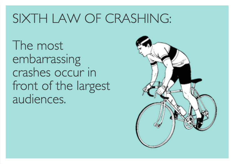 Sixth Law of Crashing