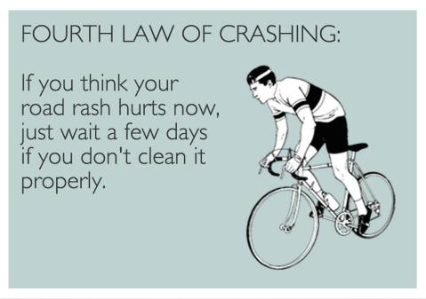 Fourth Law of Crashing