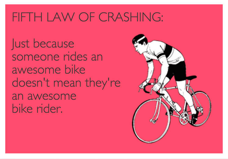 Fifth Law of Crashing